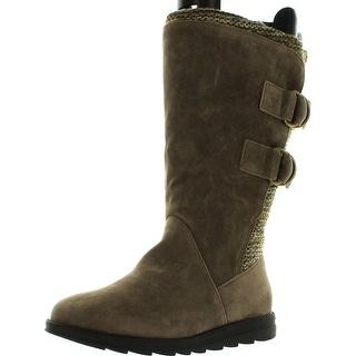 Muk Luks Womens Luna Slipper Boots