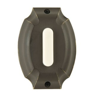 Craftmade PB4041 Die-Cast Pushbutton from the Builder's Plus Collection