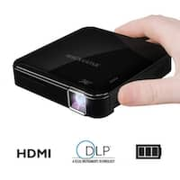 Magnasonic Mini Portable Pico Video Projector with HDMI, Battery, DLP, Vibrant 50 ANSI Lumen Brightness (PP71)