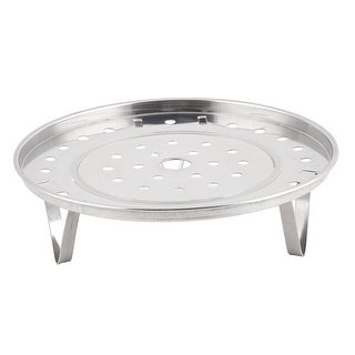 Apartment Stainless Steel Round Shape Food Cooking Heating Steamer Rack Plate