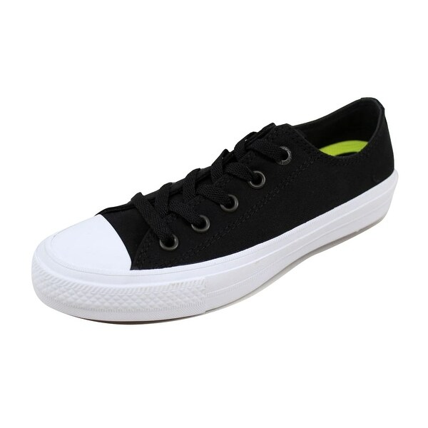 628171cbb94 Shop Converse Men s Chuck Taylor II OX Black White 150149C - Free ...