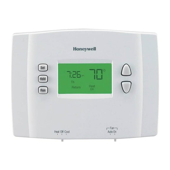 "Honeywell RTH2510B1000 7 Day Programmable Thermostat, 7.5"""" x 8.75"""" x 2"""""""