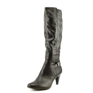 Alfani Junipper Wide Calf Round Toe Synthetic Knee High Boot