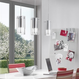 Link to Eglo Pinto Mini Pendant with Chrome Finish Similar Items in Pendant Lights
