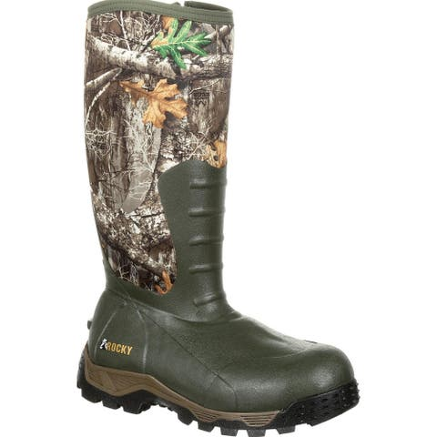 Rocky Sport Pro: Rubber 1200G Insulated Waterproof Outdoor Boot, #RKS0382