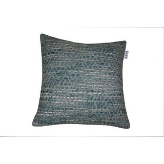 Moes Home Collection IE-1045 20 Inch Wide Square Cotton Throw Pillow - Green