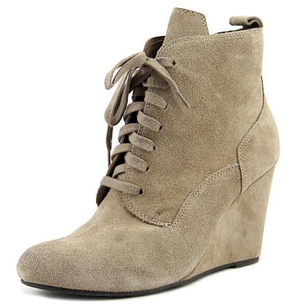 Dolce Vita Grady Women Round Toe Suede Gray Ankle Boot
