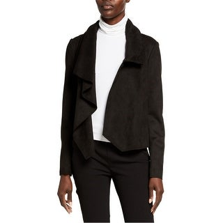 Link to Anne Klein Womens Faux Suede Coat Similar Items in Women's Outerwear