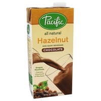 Pacific Natural Foods Hazelnut Chocolate - Non Dairy - Case of 12 - 32 Fl oz.