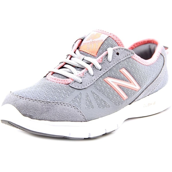 New Balance WW511 Women D Round Toe Synthetic Gray Walking Shoe