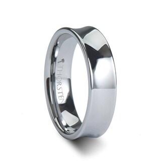 THORSTEN - CHELSEA Concave Tungsten Carbide Ring - 6mm