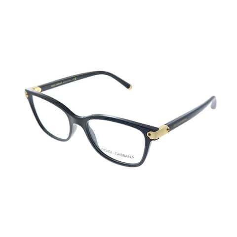 Dolce & Gabbana DG 5036 501 51mm Womens Black Frame Eyeglasses 51mm
