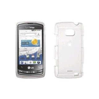 Verizon Hard Snap-On Case for LG Ally VS740 - Clear (Bulk Packaging)