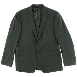 Calvin Klein Mens Wool Blend Solid Suit Jacket