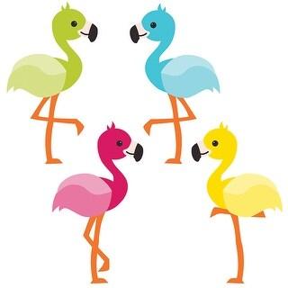 School Pop Flamingos Cut Outs