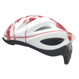 Asa Products 360 Degrees LED Light Helmet- Red and White M size