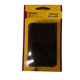 OtterBox Hybrid Defender Case for HTC Hero S, EVO Design - Black