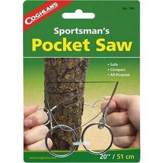 Coghlan's 704 Sportsman's Pocket Saw, Silver