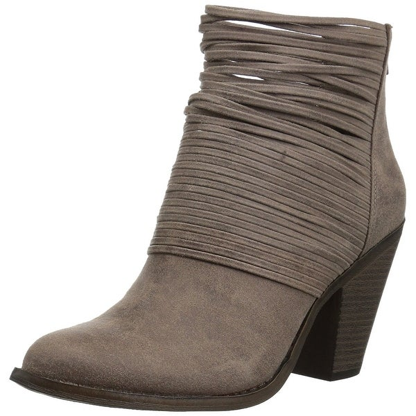 Fergalicious Womens Wicket Closed Toe Ankle Fashion Boots