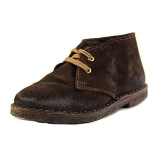 Golden Goose Larck HA3 Round Toe Suede Ankle Boot