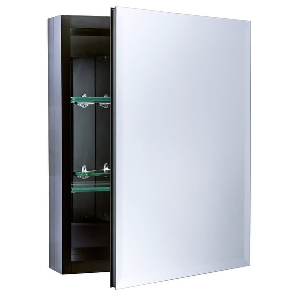 """Miseno MBC2016 Dual Mount 20"""" X 16"""" Beveled Medicine Cabinet (Surface or Recessed Mounting) - N/A"""