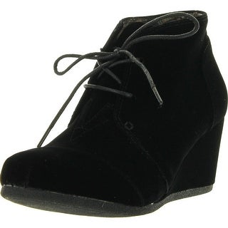 Link to Forever Link Womens Patricia-01 Lace Up Faux Suede Ankle Wedge Booties Similar Items in Women's Shoes