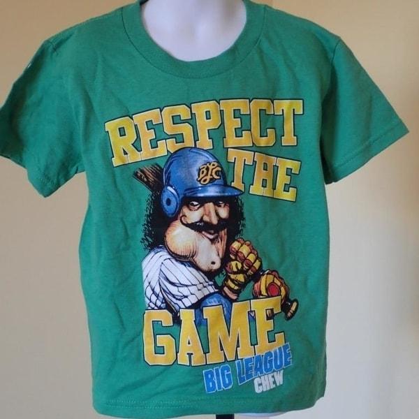 26113521d9 Shop - Big League Chew Kids Xsmall Xs (4) Green T- Shirt - Free ...
