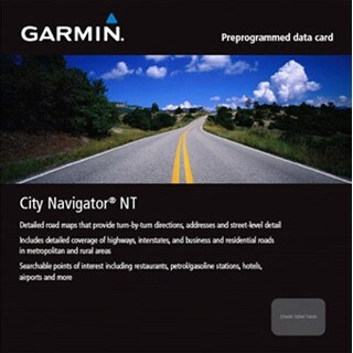 Garmin City Navigator Mexico NT (microSD/SD card) City Navigator Mexico NT