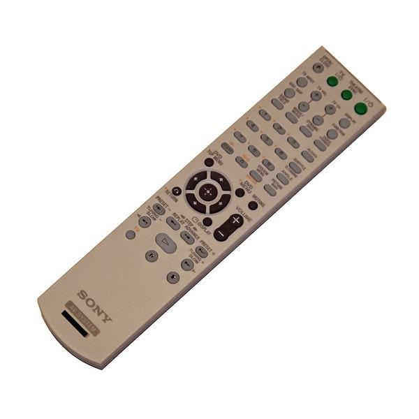 OEM Sony Remote Control Originally Shipped With: DAVHDZ235, HCDHDX265, HCDHDX266, HCDHDX267W, HCDHDX465, HCDHDX466