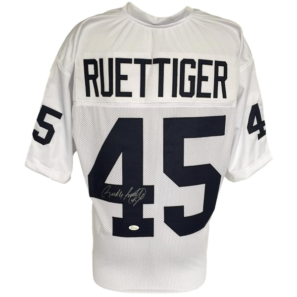Shop Rudy Ruettiger Signed Custom White College Football Jersey JSA ITP -  Free Shipping Today - Overstock.com - 22355758 8908fac05