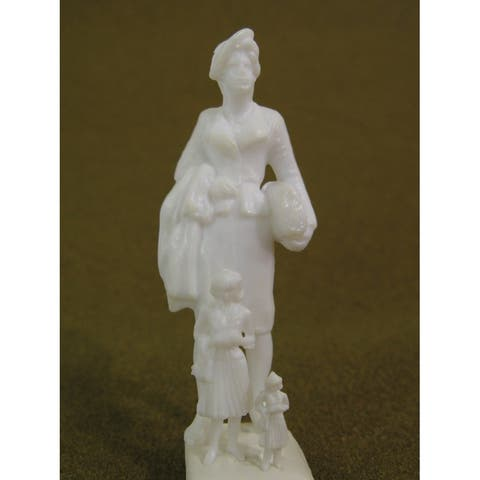 Wee scapes ws00376 architectural model human figures female 1/8 10-pack