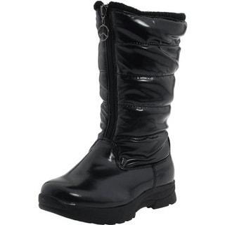 Tundra Boots Girls Puffy Waterproof Winter Boots - 4