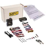 Complete 1-Button Remote Start Kit For 2007-2013 Chevrolet Silverado w/Bypass - EZ Installation