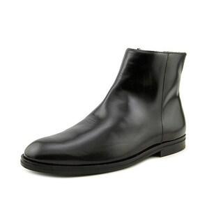 B Store Nahila   Round Toe Leather  Boot