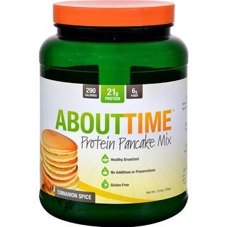 About Time - Cinnamon Spice Protein Pancake Mix ( 1 - 1.5 LB)