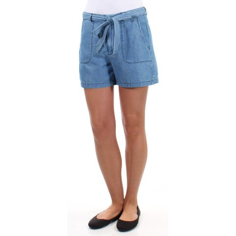 KIIND OF Womens Blue Short Size: Size 0 - Size 0