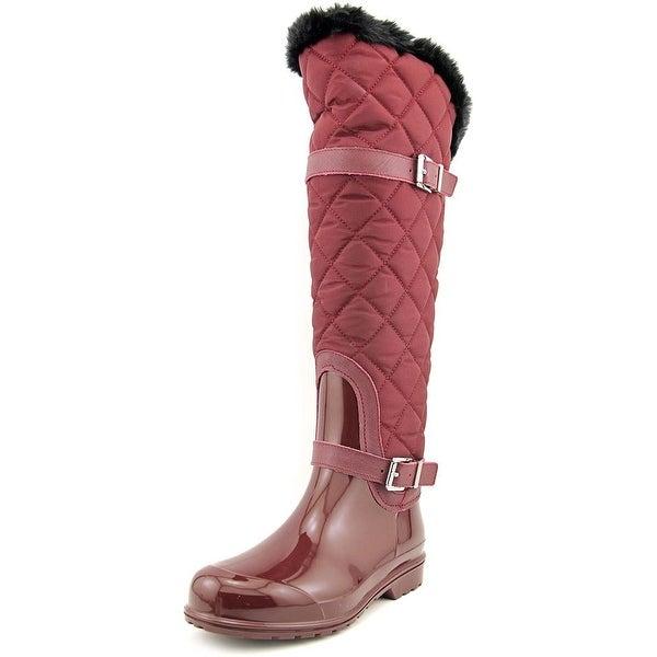 Michael Michael Kors Fulton Quilted Rainboot Synthetic Rain Boot