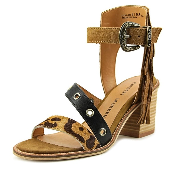 Chinese Laundry Cowgirl Women Rust Sandals