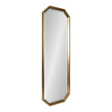 Kate and Laurel Calter Elongated Octagon Wall Mirror
