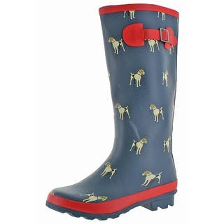 Henry Ferrera Womens Manchester Rain Boots Waterproof Knee High 5 Options Available