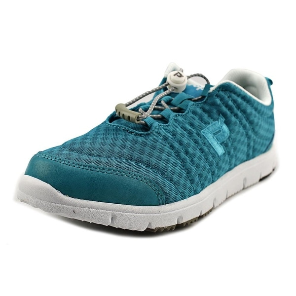 Propet Travel Walker II Elite Women Turquoise Sneakers Shoes