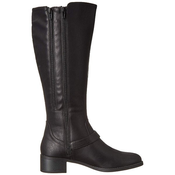 Easy Street Womens Jewel Plus Mid Calf Boot