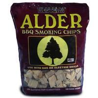 Western 28068 Alder BBQ Smoking Chips, 1 lbs