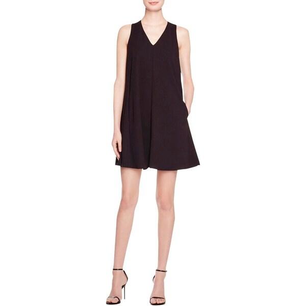 086a0707dfd Shop ABS by Allen Schwartz Womens Party Dress Solid Sleeveless ...