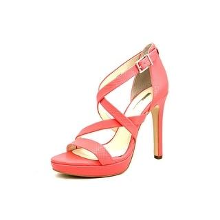 BCBGeneration Granvill Women Open Toe Synthetic Pink Platform Sandal