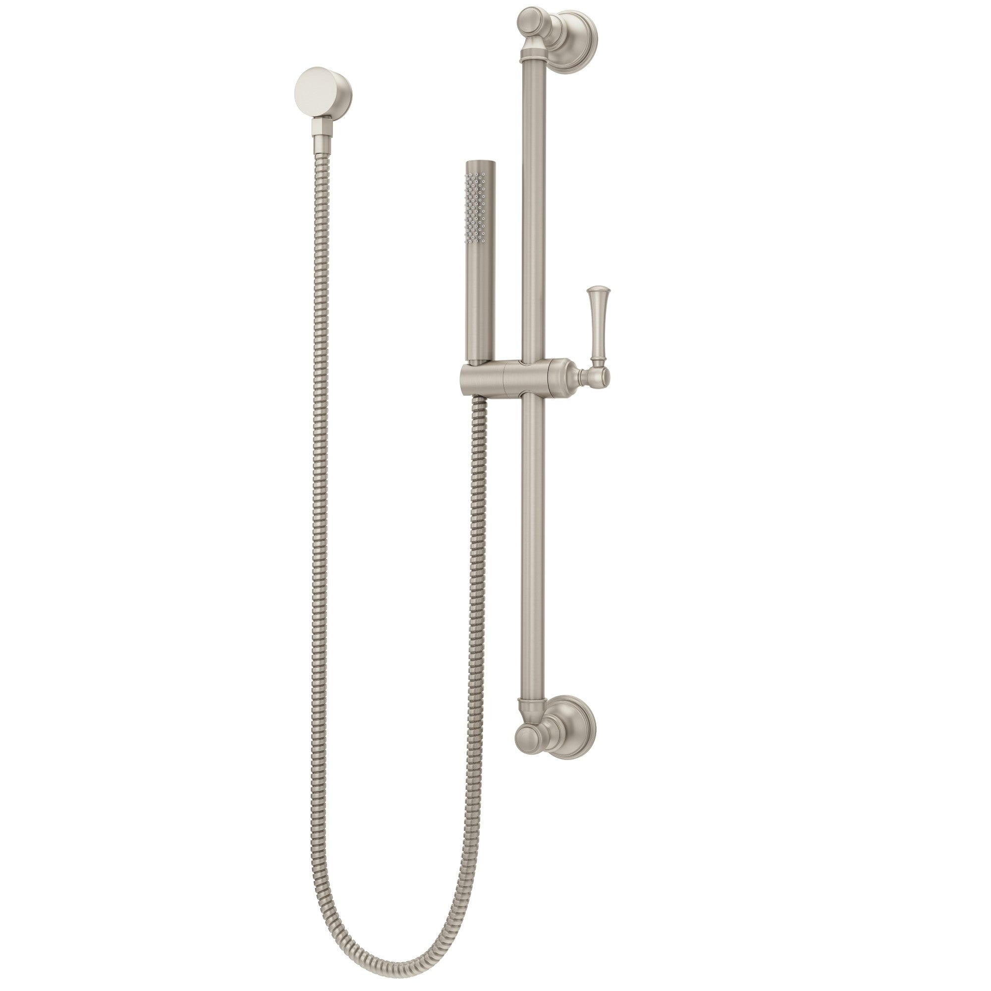 Pfister Lg16 3tb Tisbury Single Function Hand Shower With Slide Bar And Elbow Supply