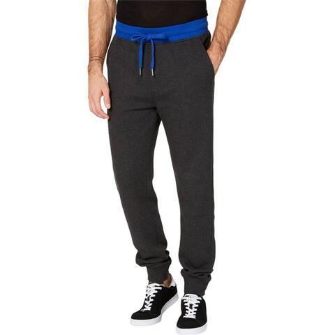 Calvin Klein Mens Fleece Casual Jogger Pants