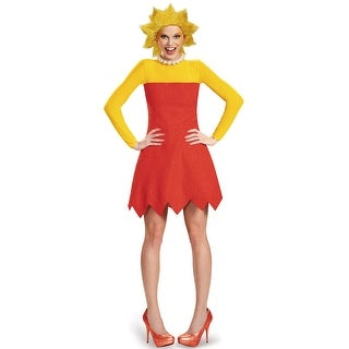 Disguise Lisa Deluxe Adult Costume - Red