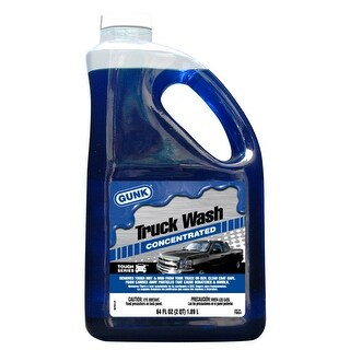 Gunk TW64 Tough Series Truck Wash, 64 Oz
