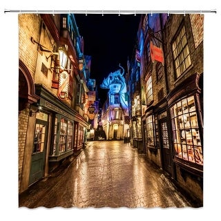 Link to Magic World Harry Potter Shower Curtain Similar Items in Window Treatments